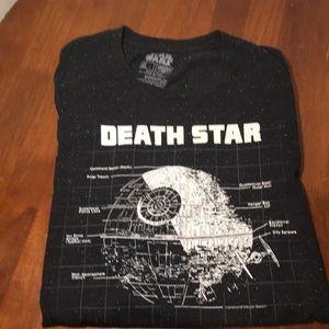 Star Wars Death Star Speckled Grey Fifth Sun Tee